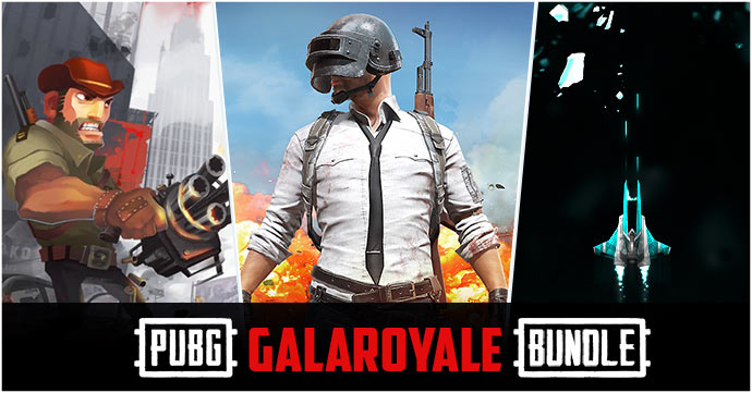 Be a winner with PUBG GalaRoyale Bundle!