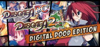 Disgaea 1 PC + Disgaea 2 PC Digital Doods Edition (Games + Art Books) image