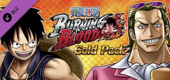 One Piece Burning Blood Gold Pack image