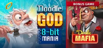 Doodle God: 8-bit Mania + Bonus Game Doodle Mafia image