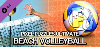 Pixel Puzzles Ultimate - Puzzle Pack: Beach Volleybal image