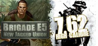 7,62 High Calibre + Brigade E5: New Jagged Union Pack image