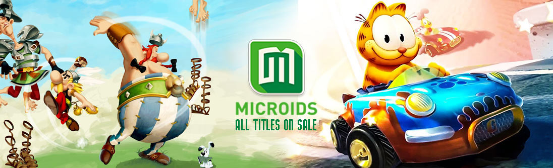 Microids Publisher Sale banner img