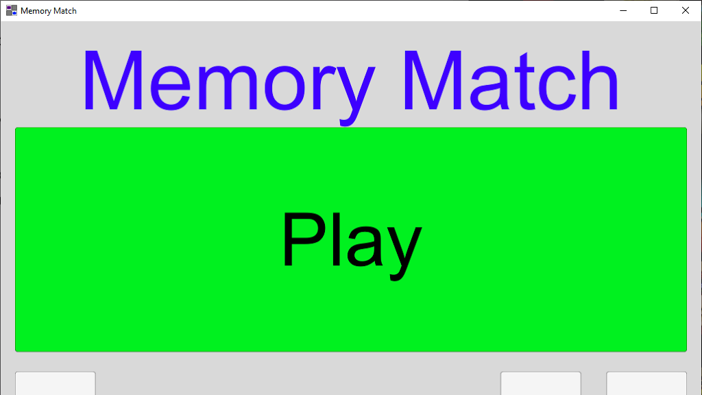 Memory Match (Free PC Game)