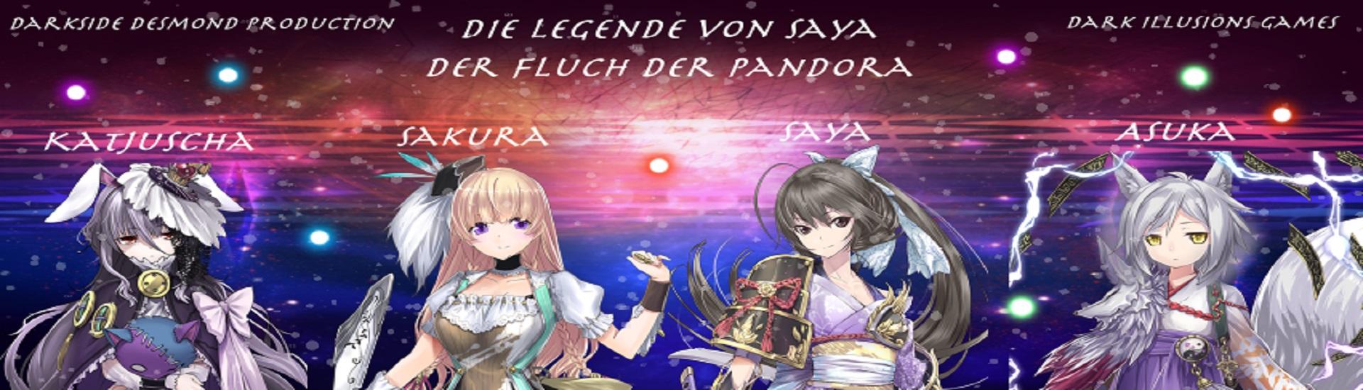 Die Legende von Saya - Der Fluch Der Pandora cover
