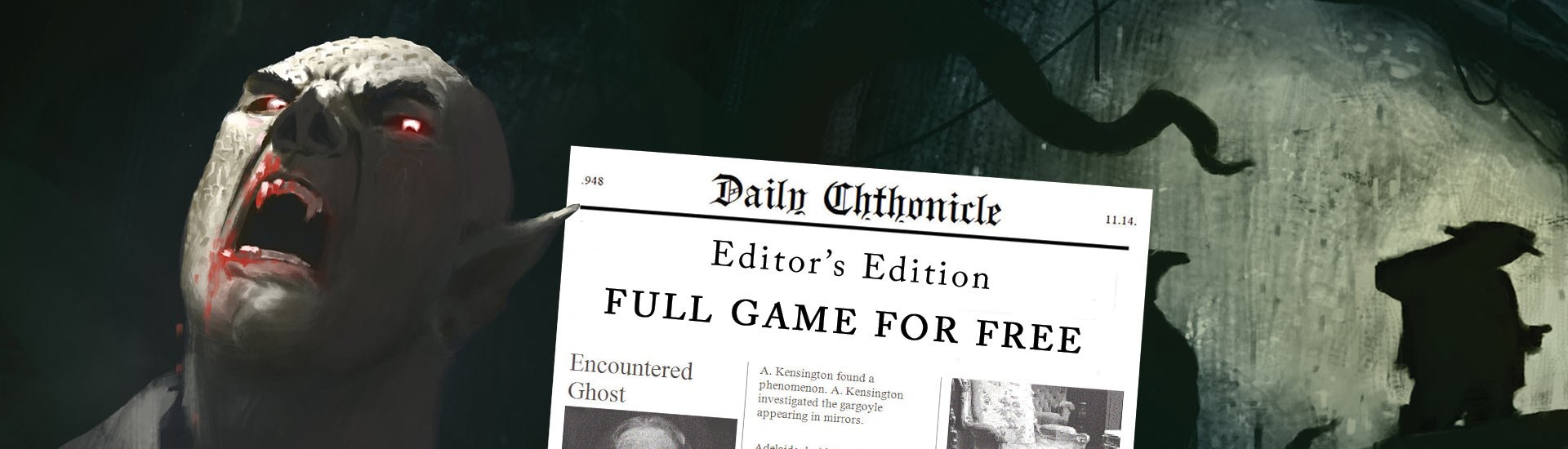 Daily Chthonicle: Editor's Edition cover