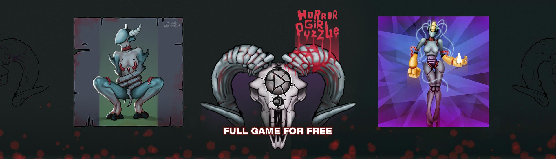 Horror Girl Puzzle | Indiegala Developers