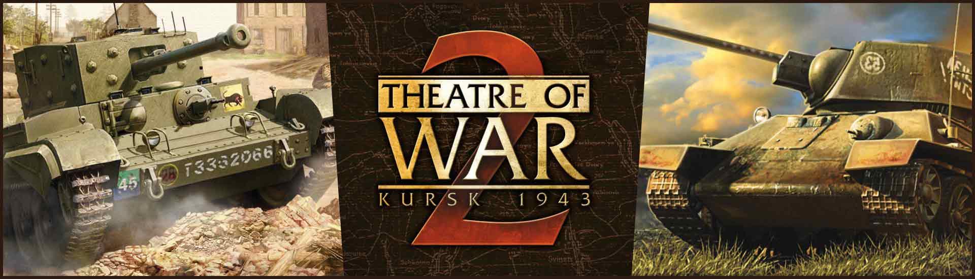 戦争の劇場2:クルスク1943年の表紙