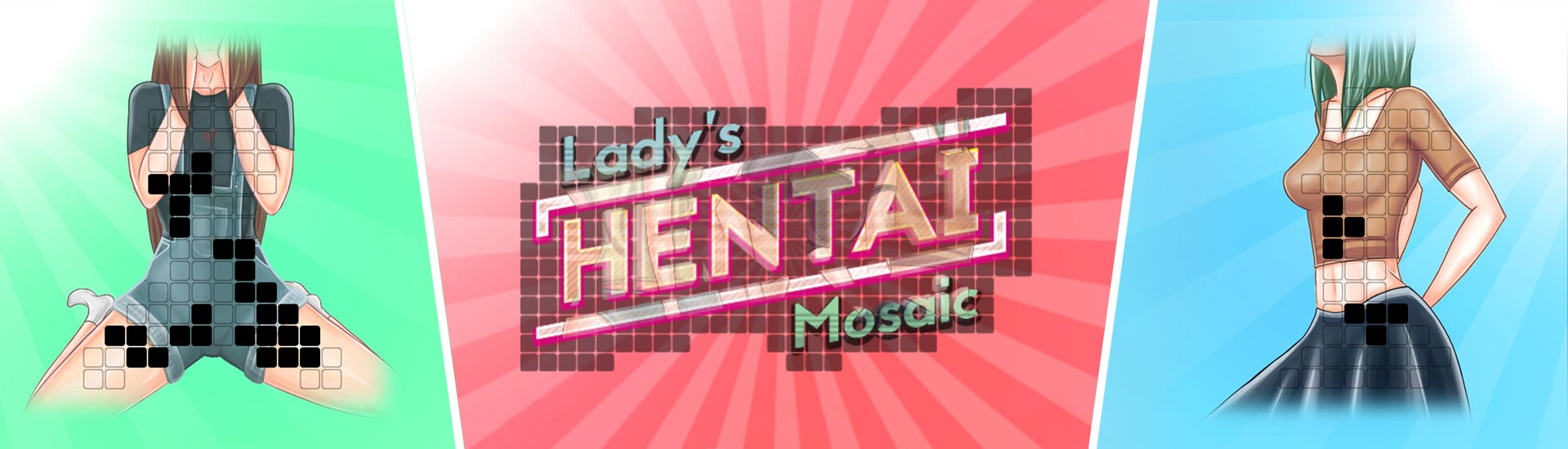 Lady's Hentai Mosaic cover