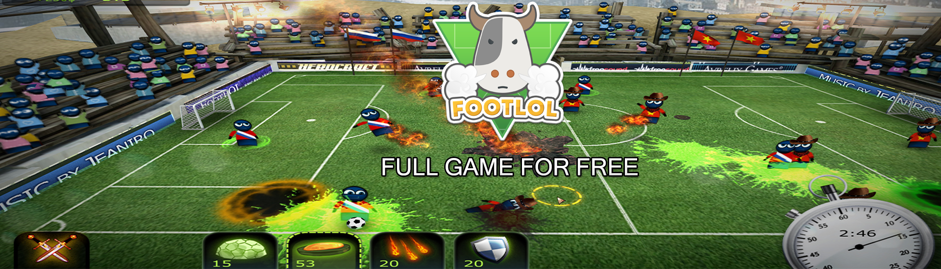 FootLOL: Epic Fail League cover