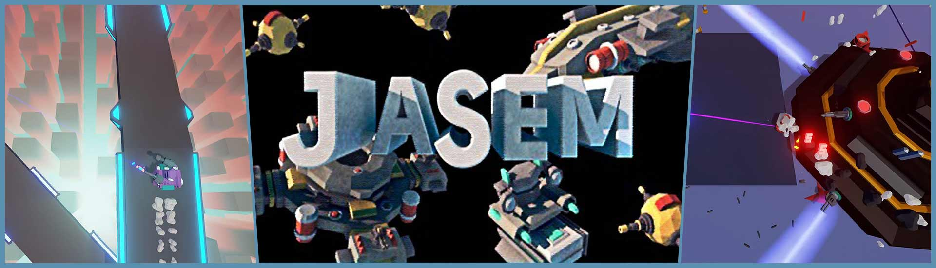 JASEM: Just Another Shooter with Electronic Music cover