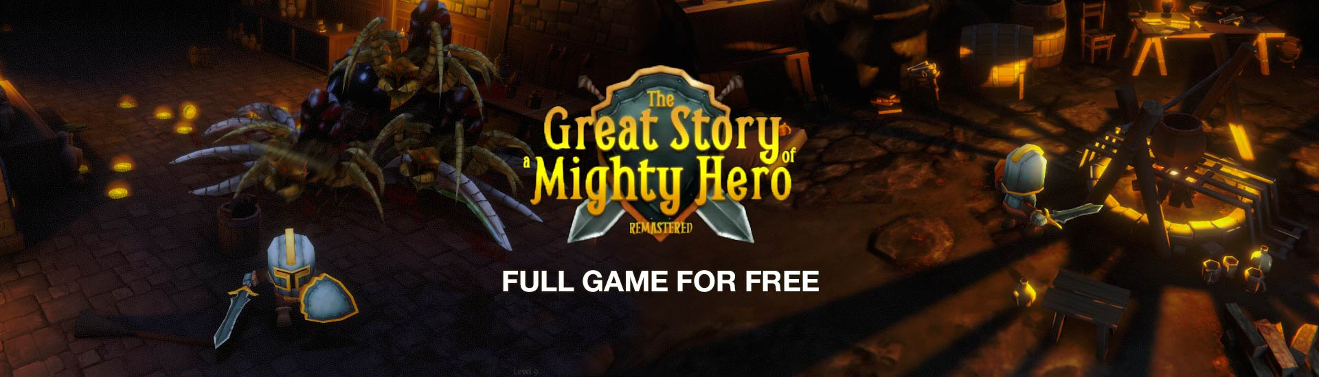 The Great Story of a Mighty Hero - Remastered cover