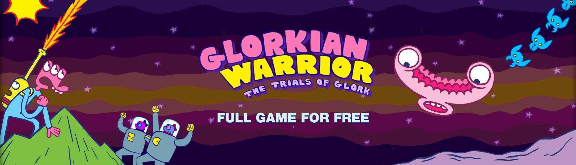 Glorkian Warrior: The Trials Of Glork cover