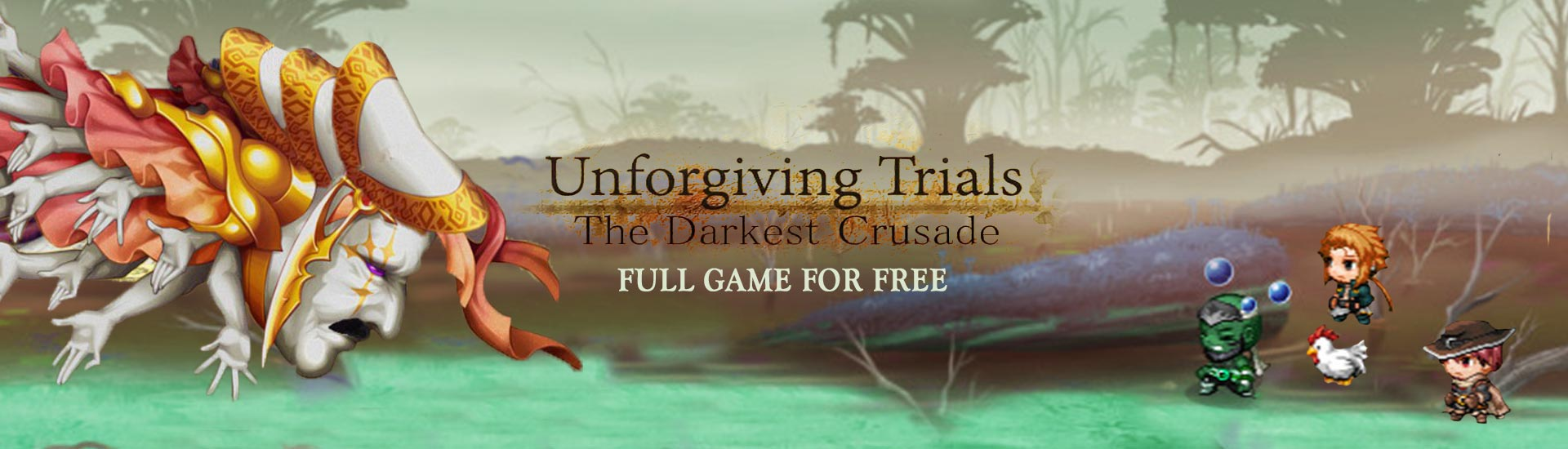 Unforgiving Trials: The Darkest Crusade cover