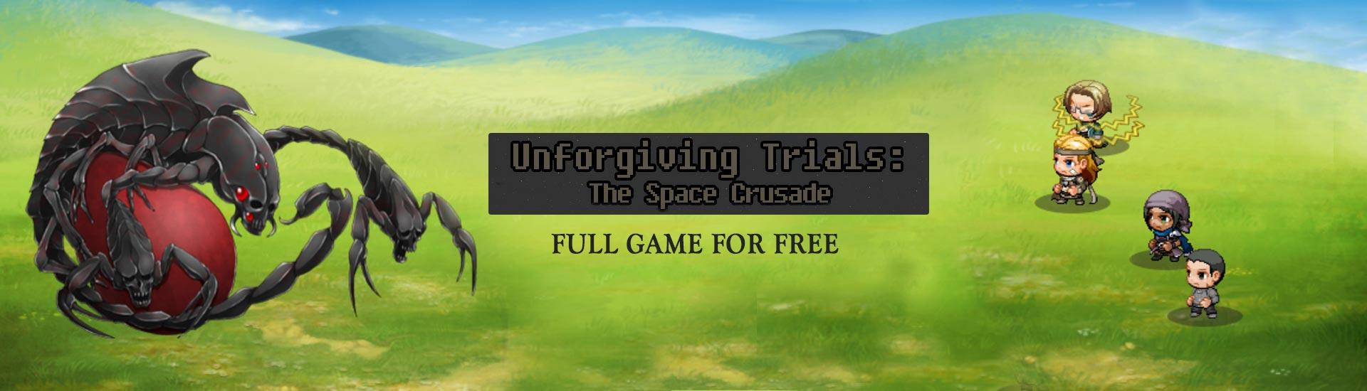 Unforgiving Trials: The Space Crusade cover