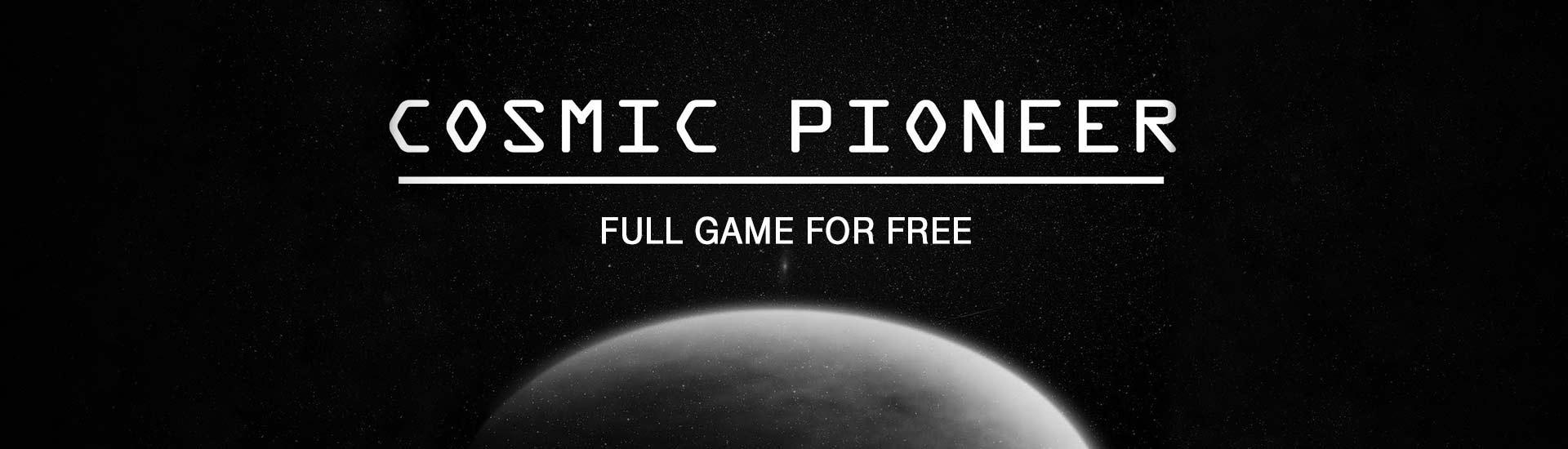 Cosmic Pioneer cover
