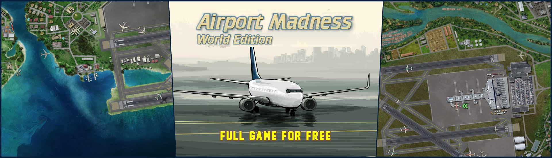 Airport Madness World Edition (Free PC Game)