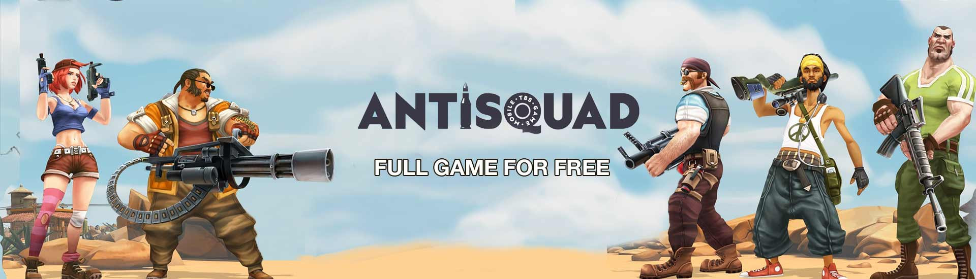 Antisquad cover