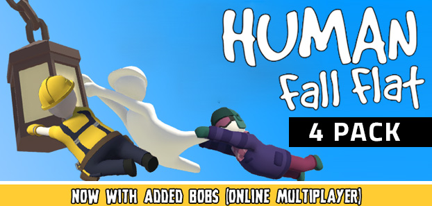Human: Fall Flat 4-PACK