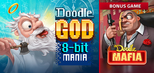 Doodle God: 8-bit Mania + Bonus Game Doodle Mafia