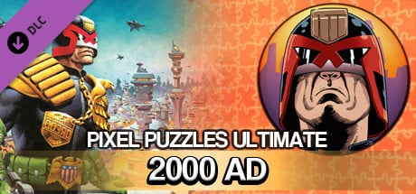Pixel Puzzles Ultimate - Puzzle Pack: 2000 AD image