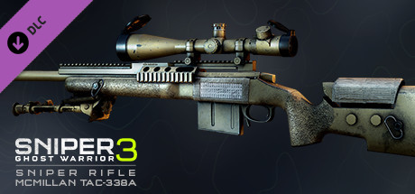 Sniper Ghost Warrior 3 - Sniper Rifle McMillan TAC-338A image