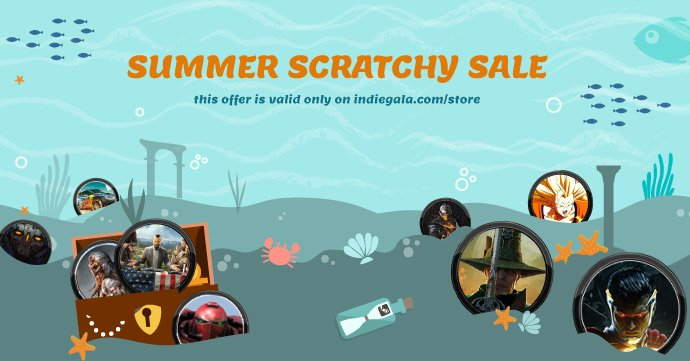 Summer Scratchy Sale: Cheap & Free Steam Games Galore!