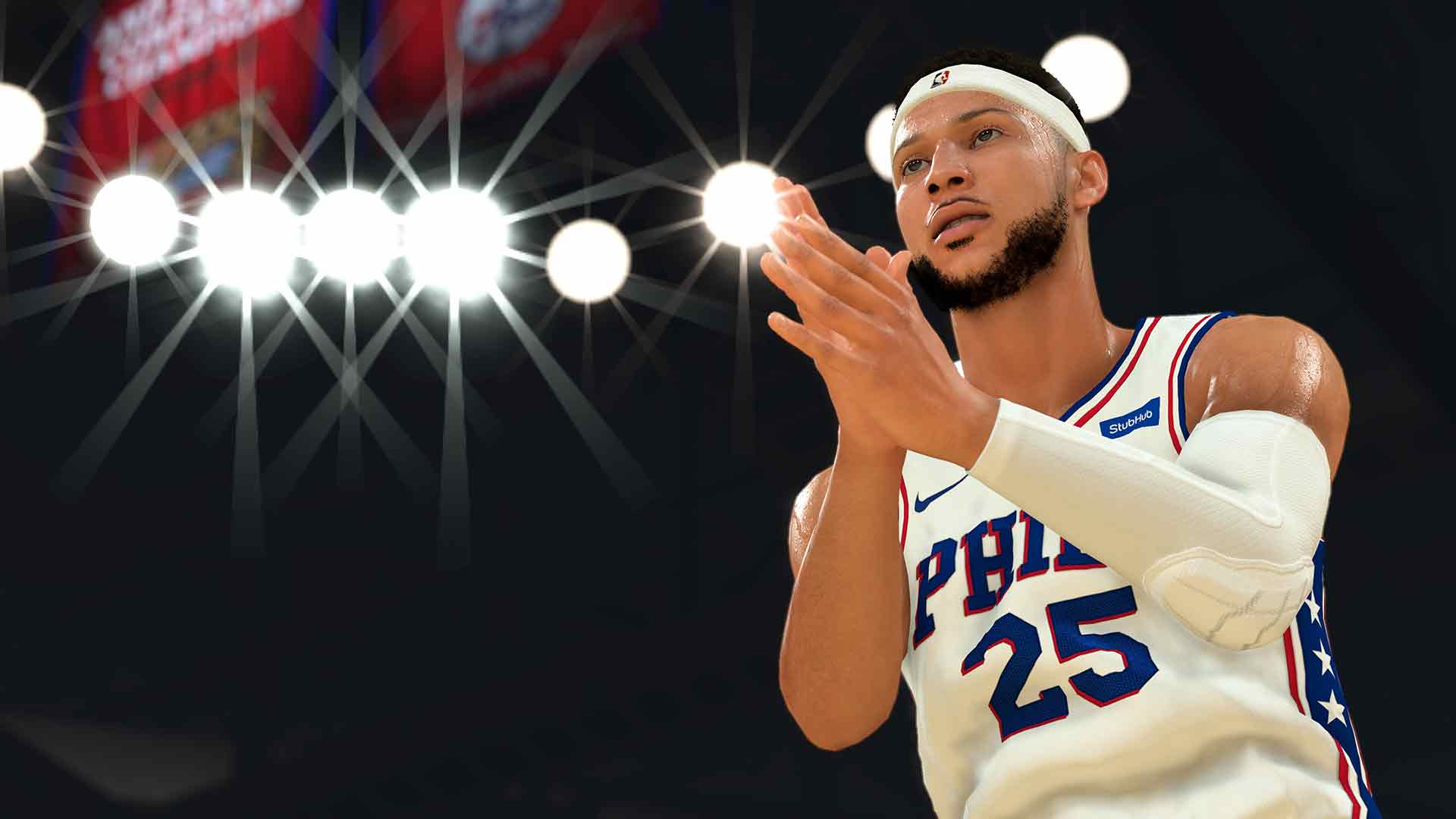 NBA 2K20 game image