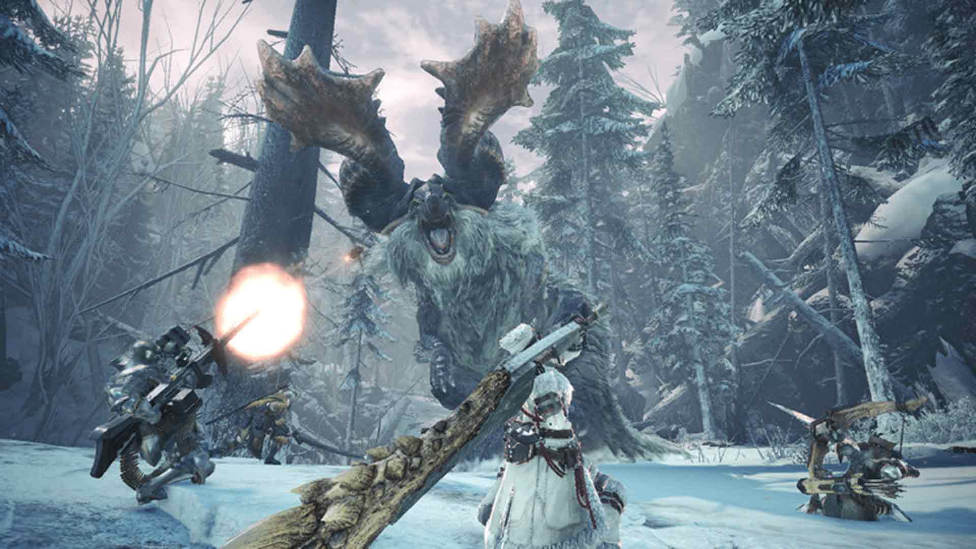 Monster Hunter: World – Iceborne game image