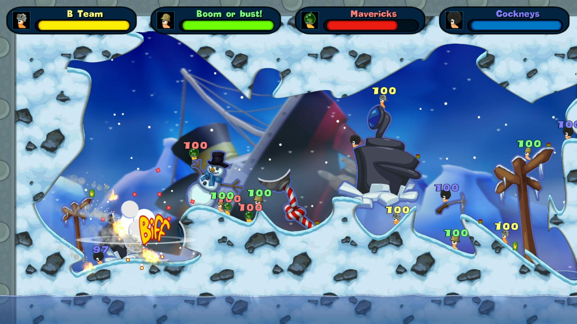 Worms Reloaded - Game Of The Year Upgrade game image