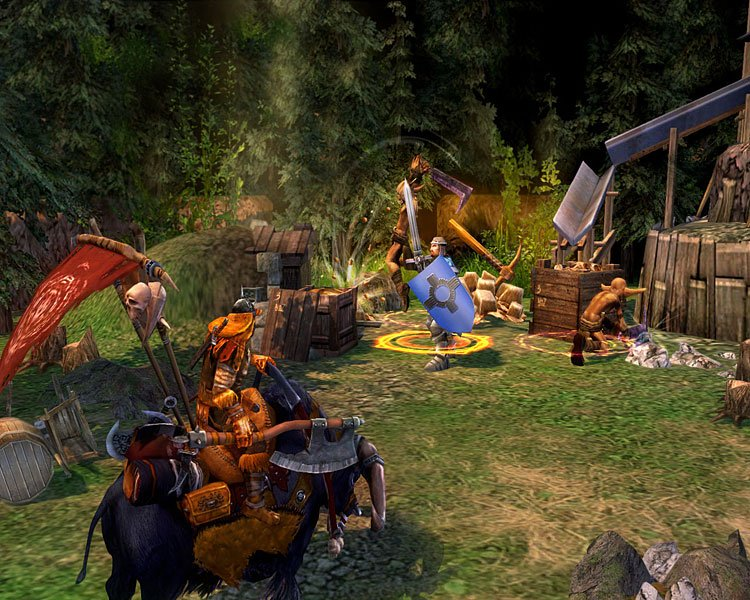 Heroes of Might & Magic V: Tribes of the East game image