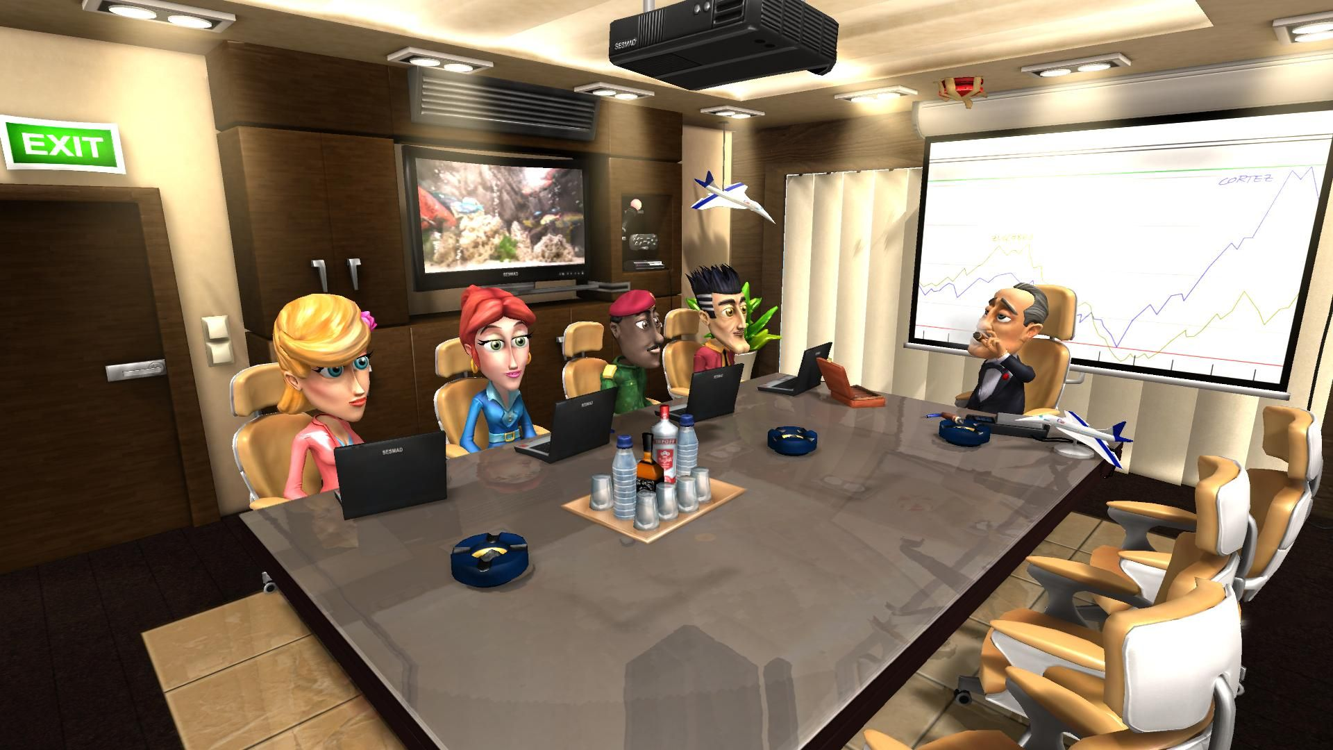 Airline Tycoon 2 game image
