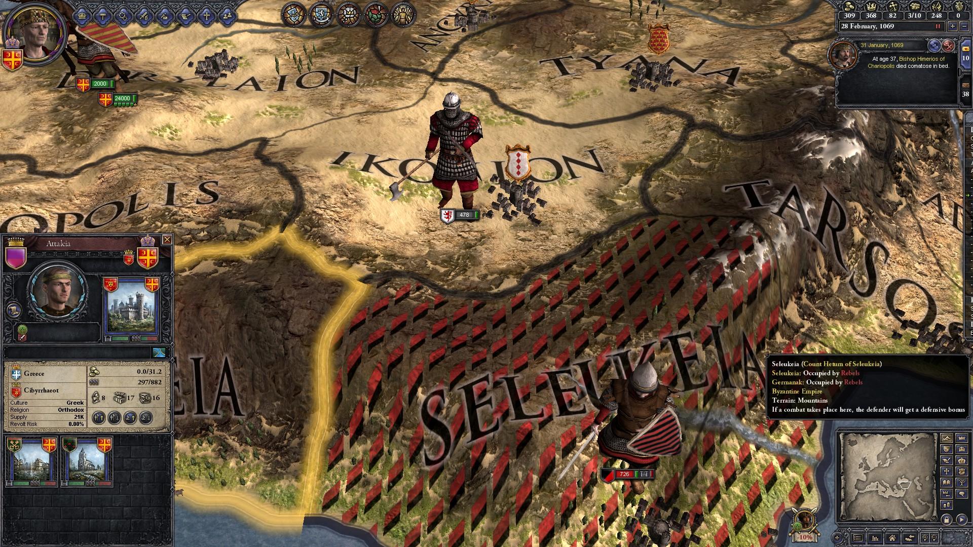 Crusader Kings II: Byzantine Unit Pack game image