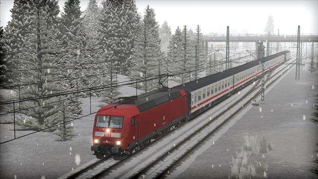 Train Simulator: DB BR 145 Loco Add-On game image