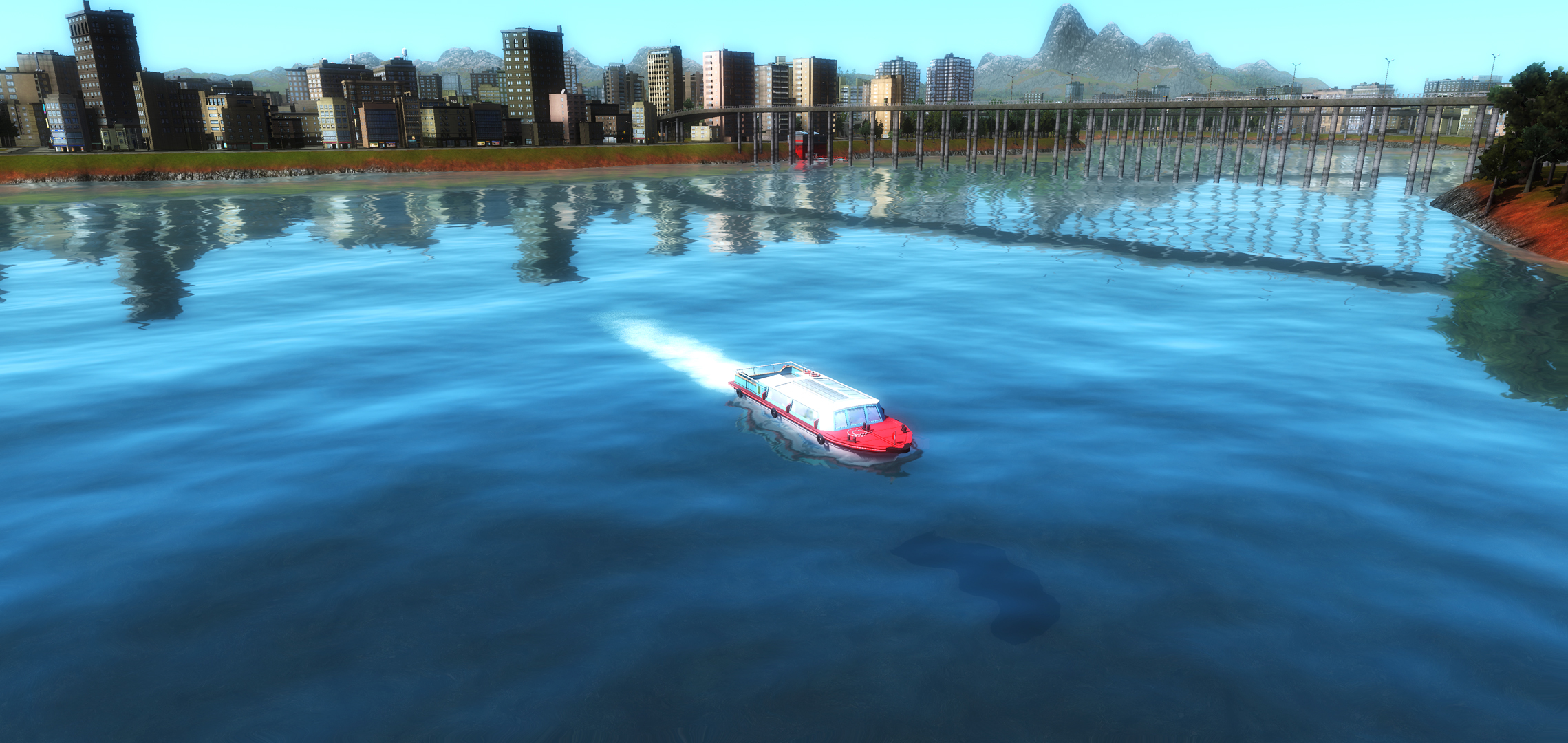 Cities in Motion 2: Wending Waterbuses game image