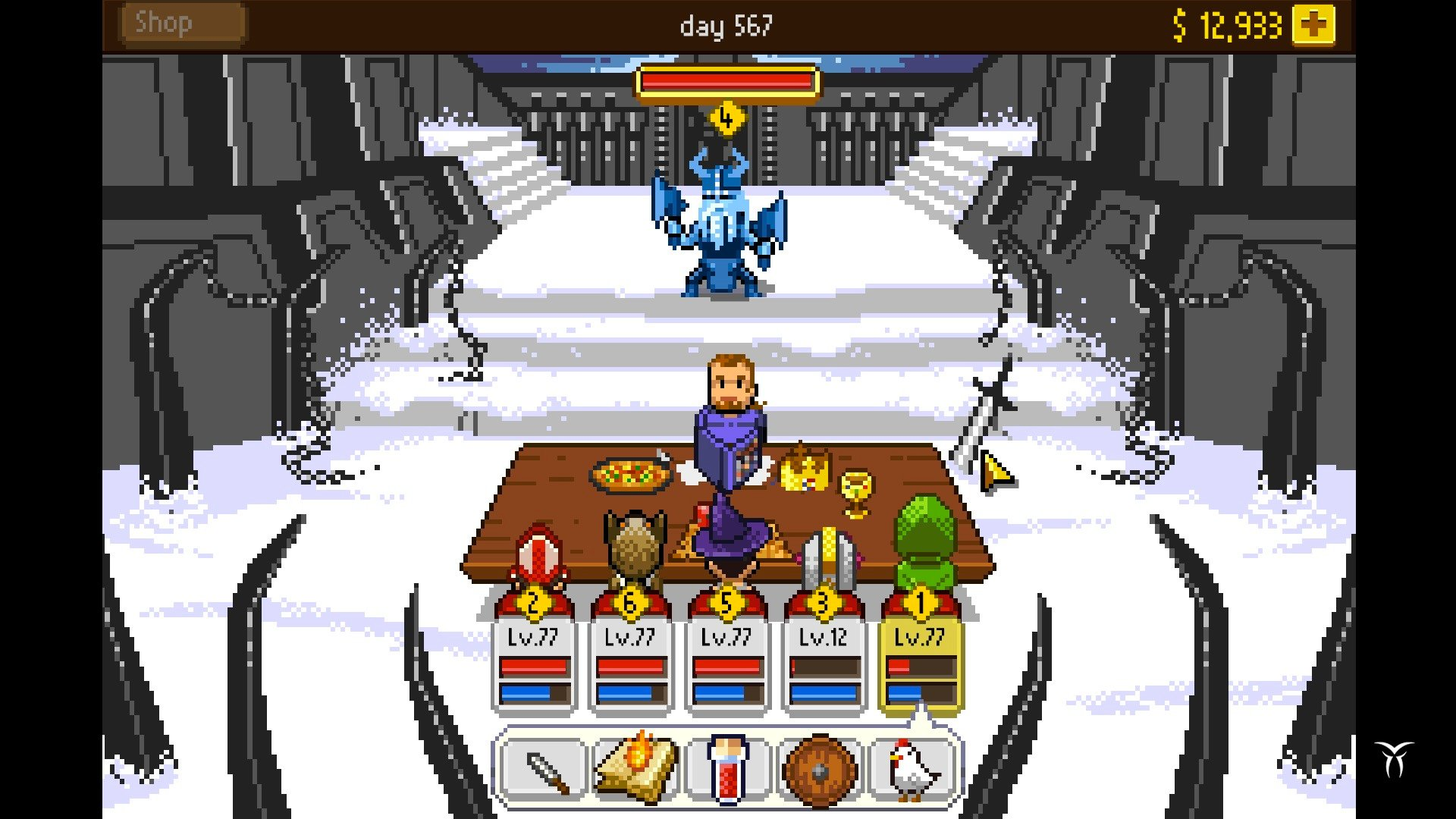 Knights of Pen and Paper +1 Edition game image