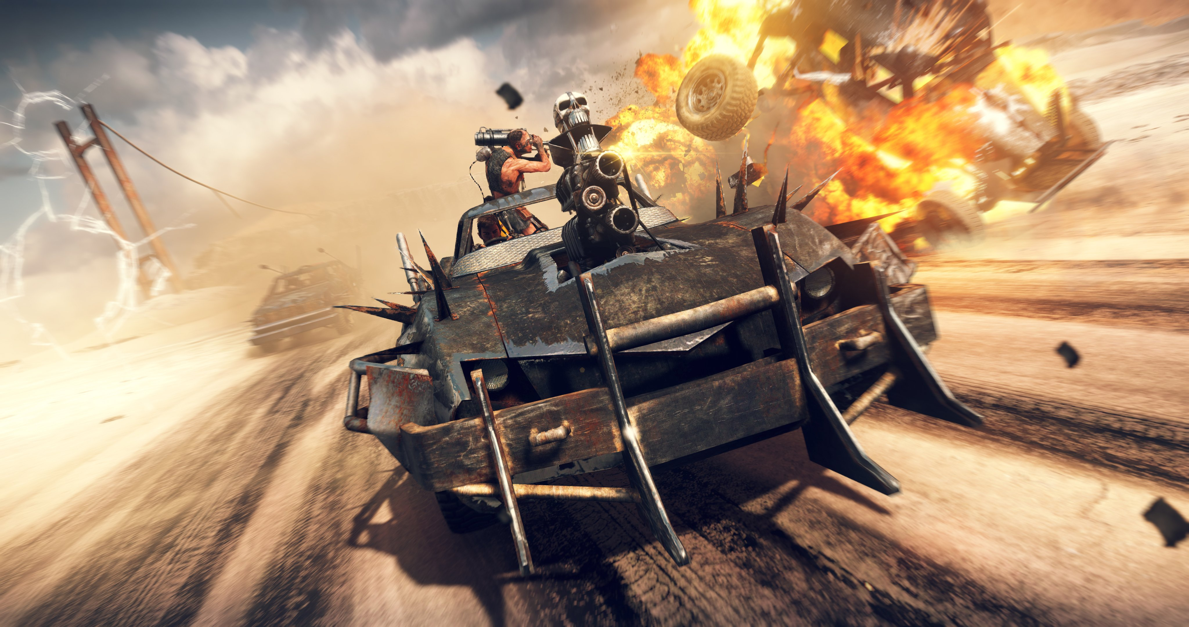 Mad Max game image