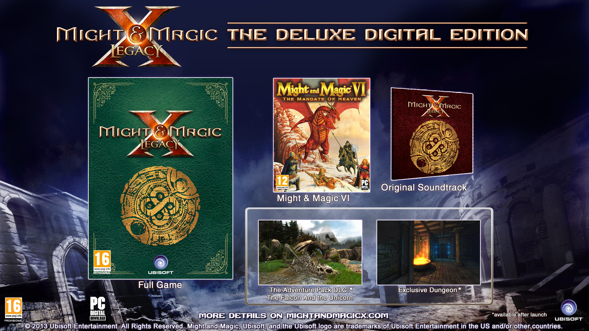 Might & Magic X - Legacy game image