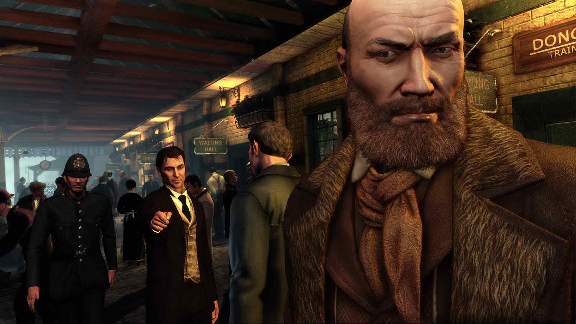 Sherlock Holmes: Crimes and Punishments game image