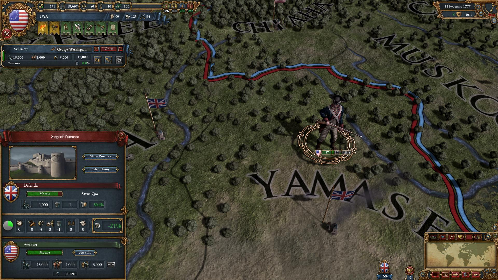 Europa Universalis IV: American Dream game image