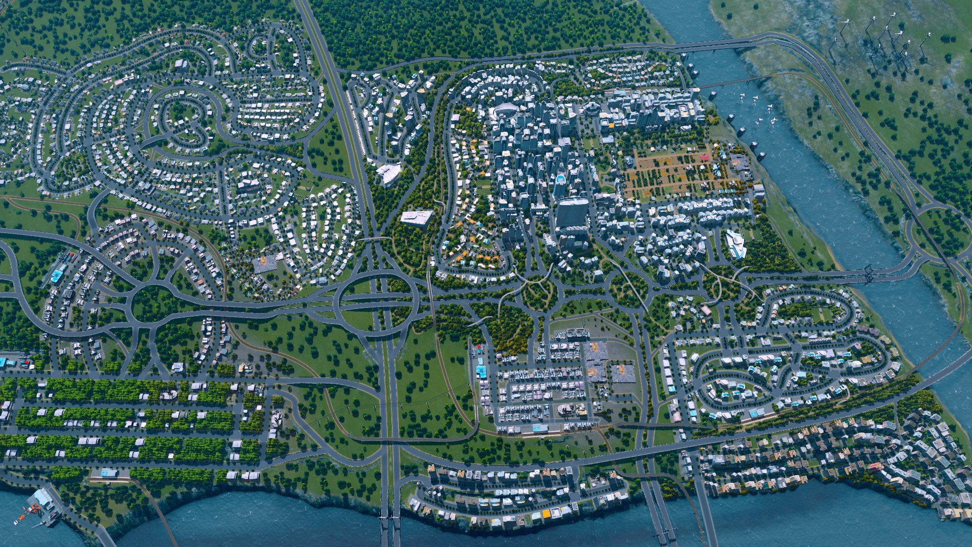 Cities: Skylines Deluxe Edition game image