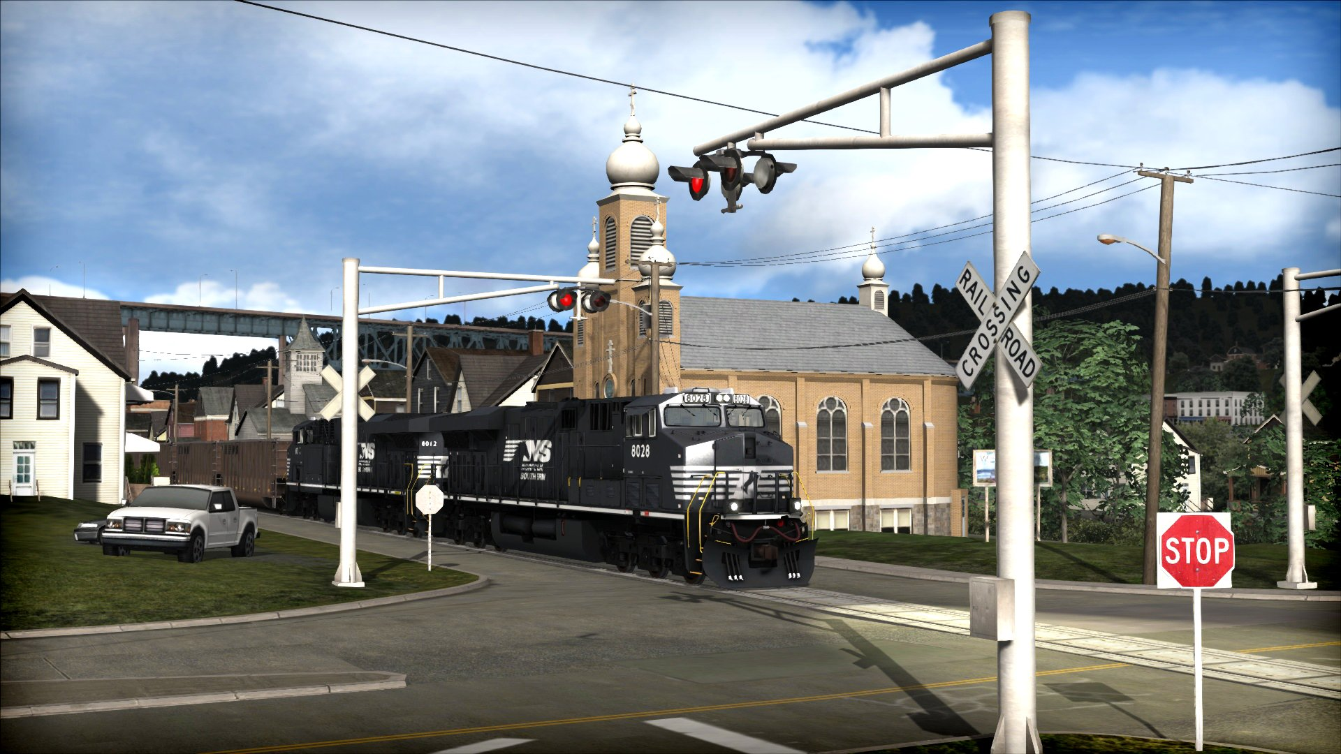 Train Simulator: Norfolk Southern Coal District Route Add-On game image