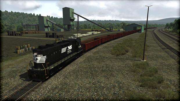 Train Simulator: Norfolk Southern GP38-2 High Hood Loco Add-On game image