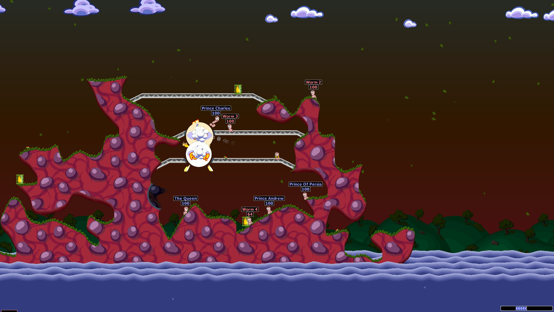 Worms World Party Remastered game image