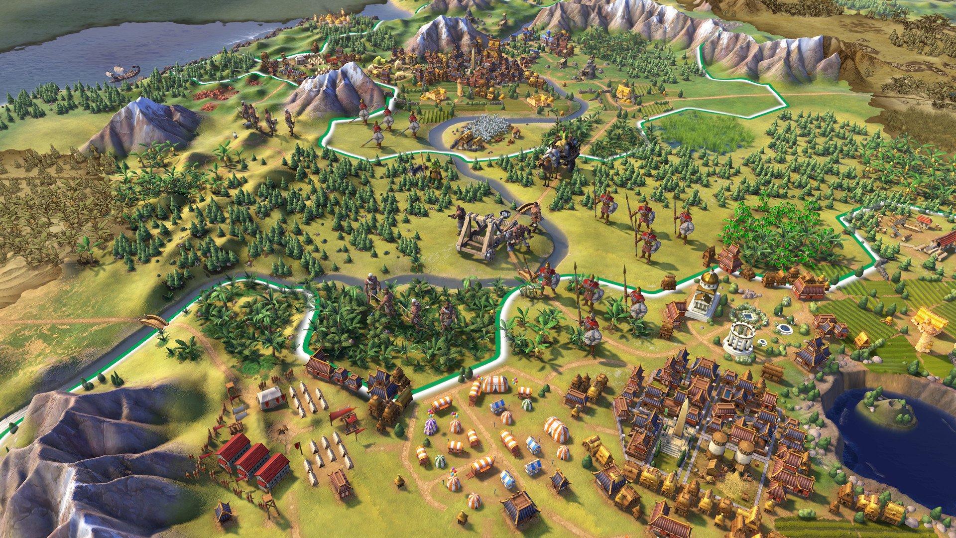 Sid Meier's Civilization VI game image