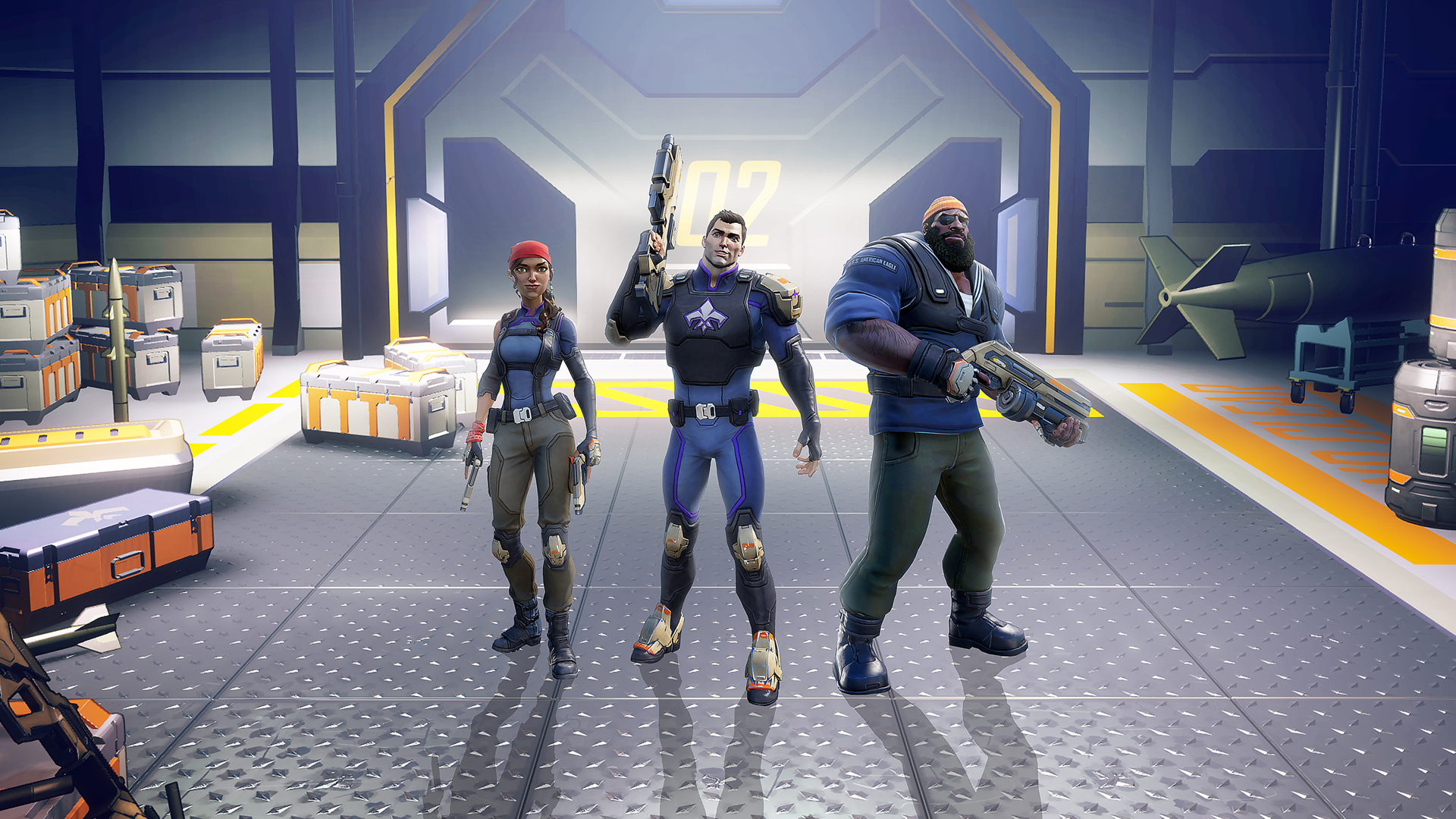 Agents of Mayhem game image
