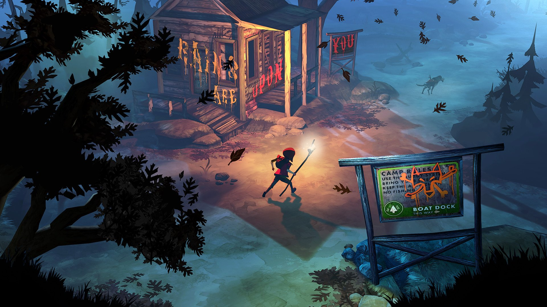 The Flame in the Flood game image