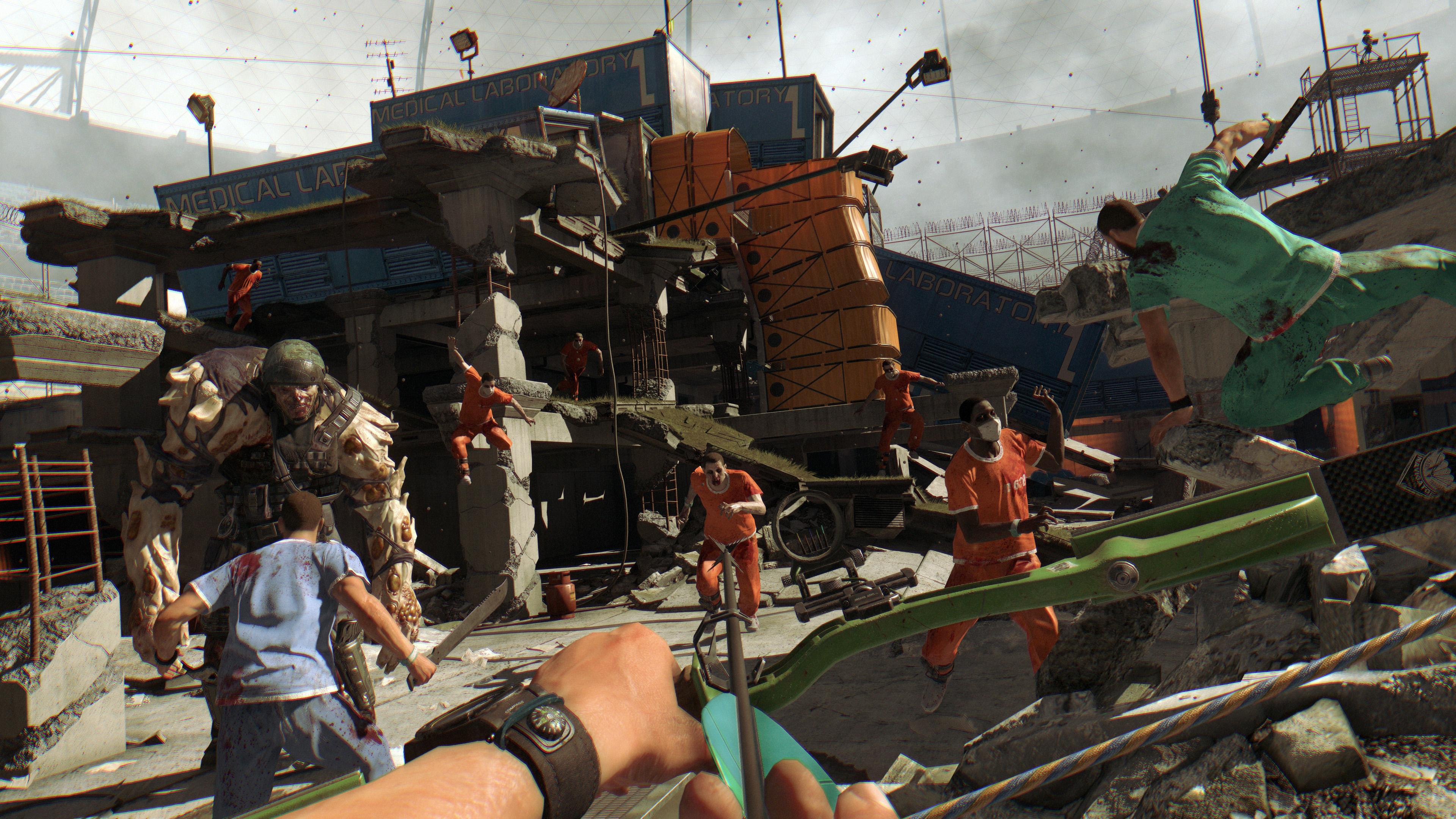 Dying Light: The Bozak Horde game image