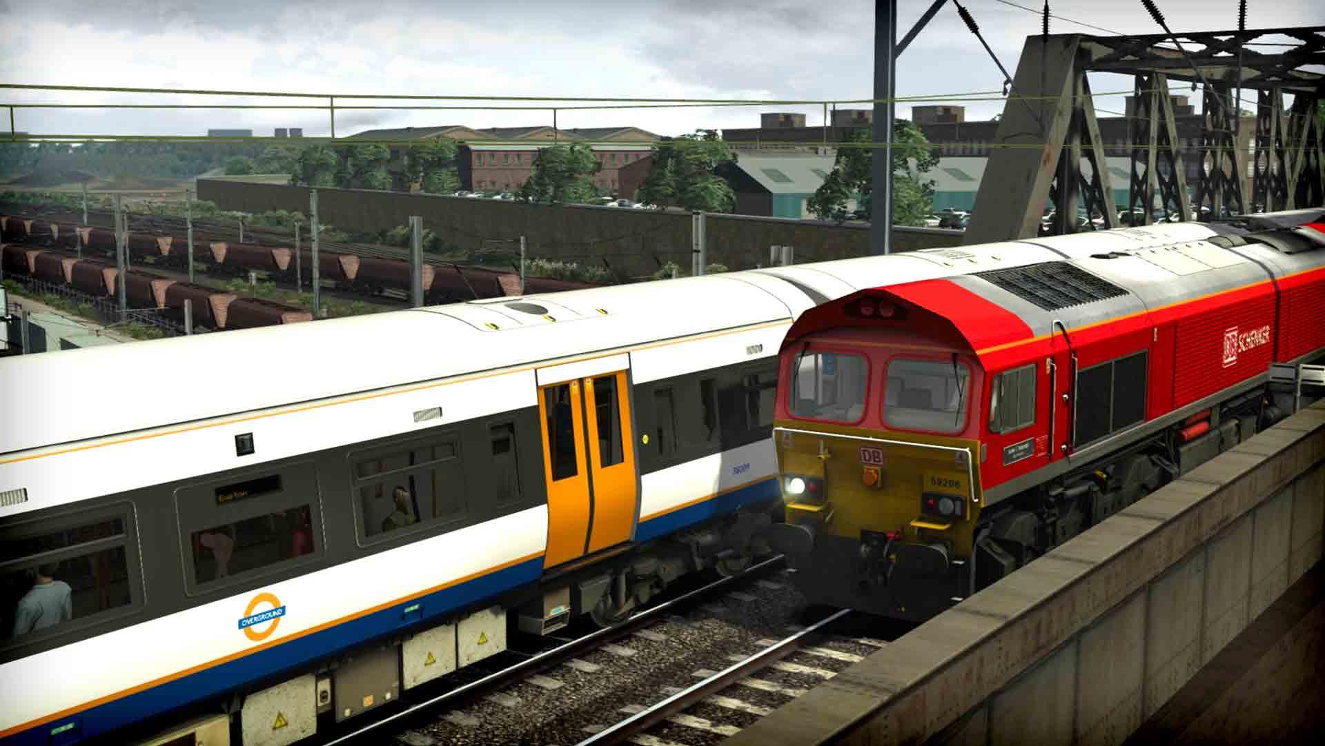 Train Simulator: DB Schenker Class 59/2 Loco Add-On game image