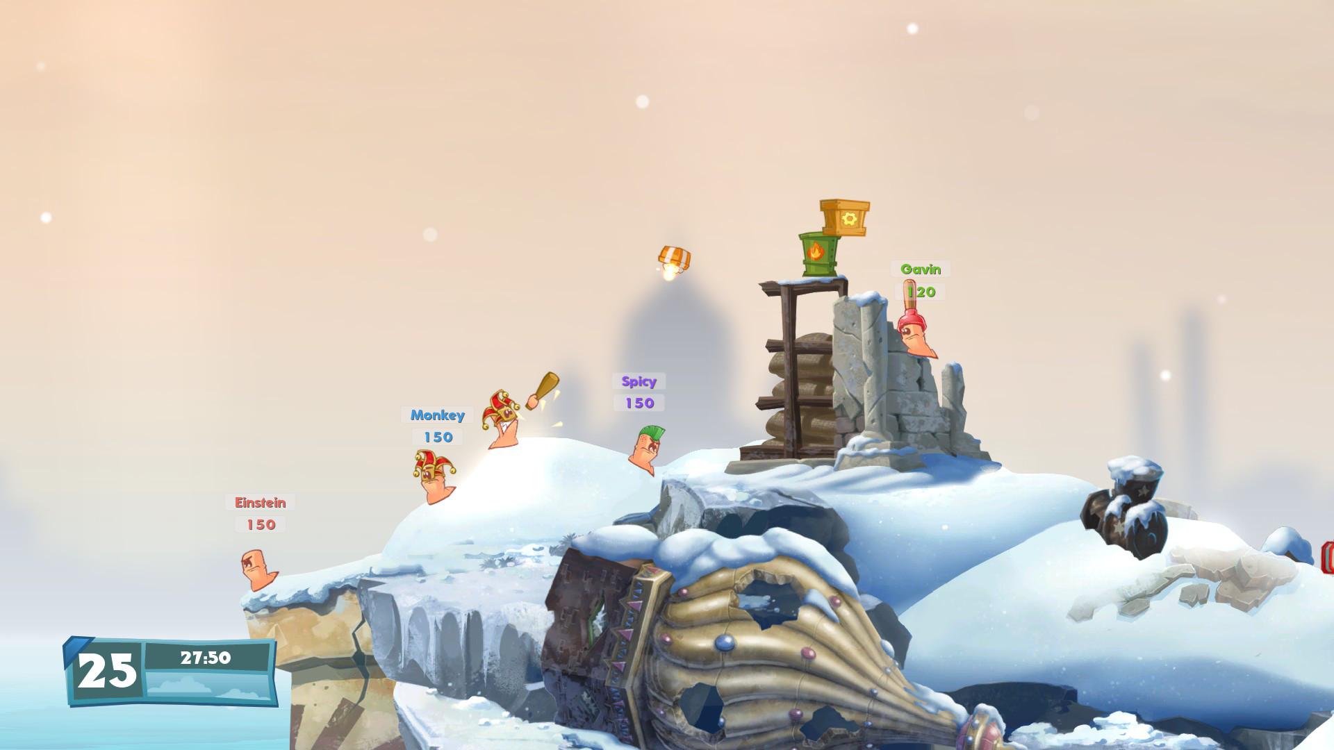 Worms W.M.D game image